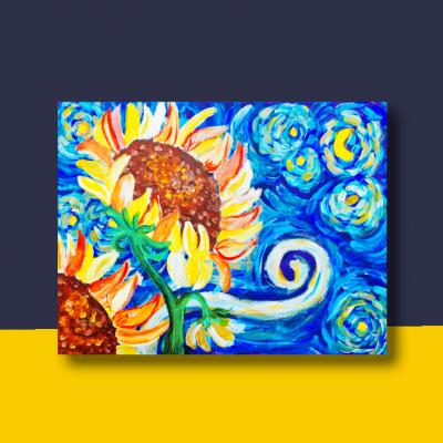 Sunnflower Painting De