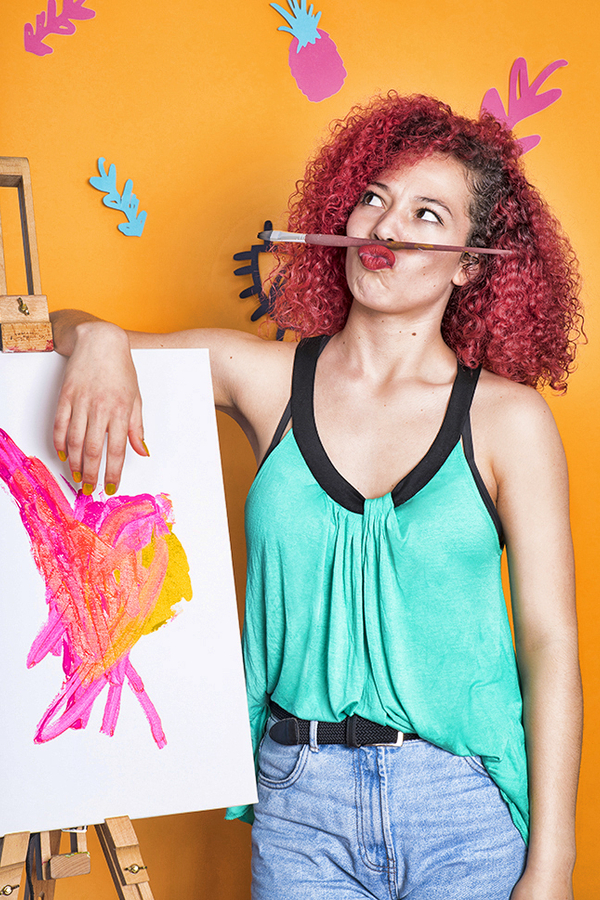 Workshop dikke dames schilderen nederland