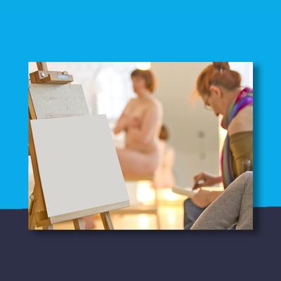 Naaktmodel schilderen utrecht