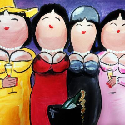 Dikke Dames Kwartet