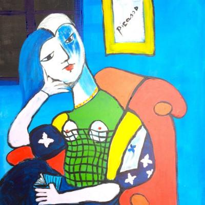 Bekende Kunstenaars Schilderijen Picasso