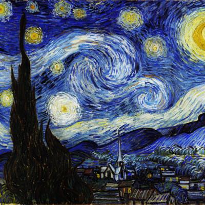 Bekende Kunstenaars Schilderijen Starry Night