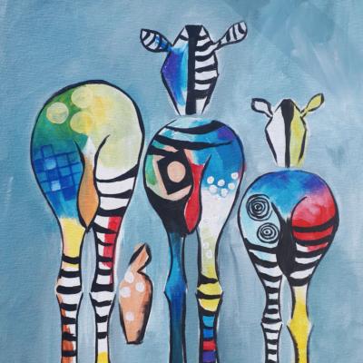 Dieren Zotte Zebra S